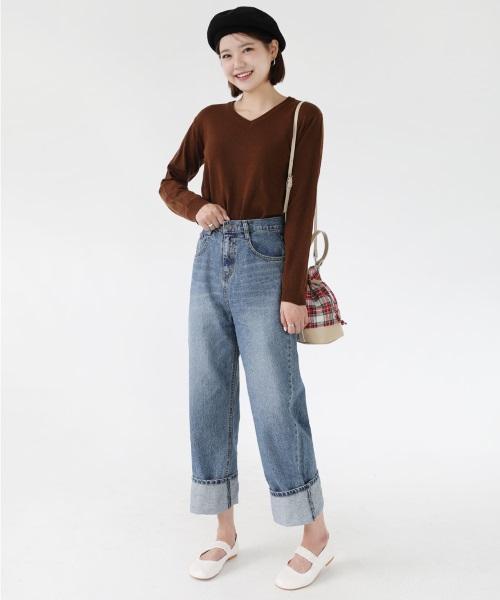 ぽっちゃりさんの韓国ファッション