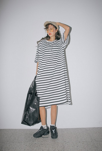 スタイルナンダのストリートファッション