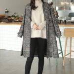 韓国ファッションサイトから学ぶ◎チェック柄コートを徹底大攻略!